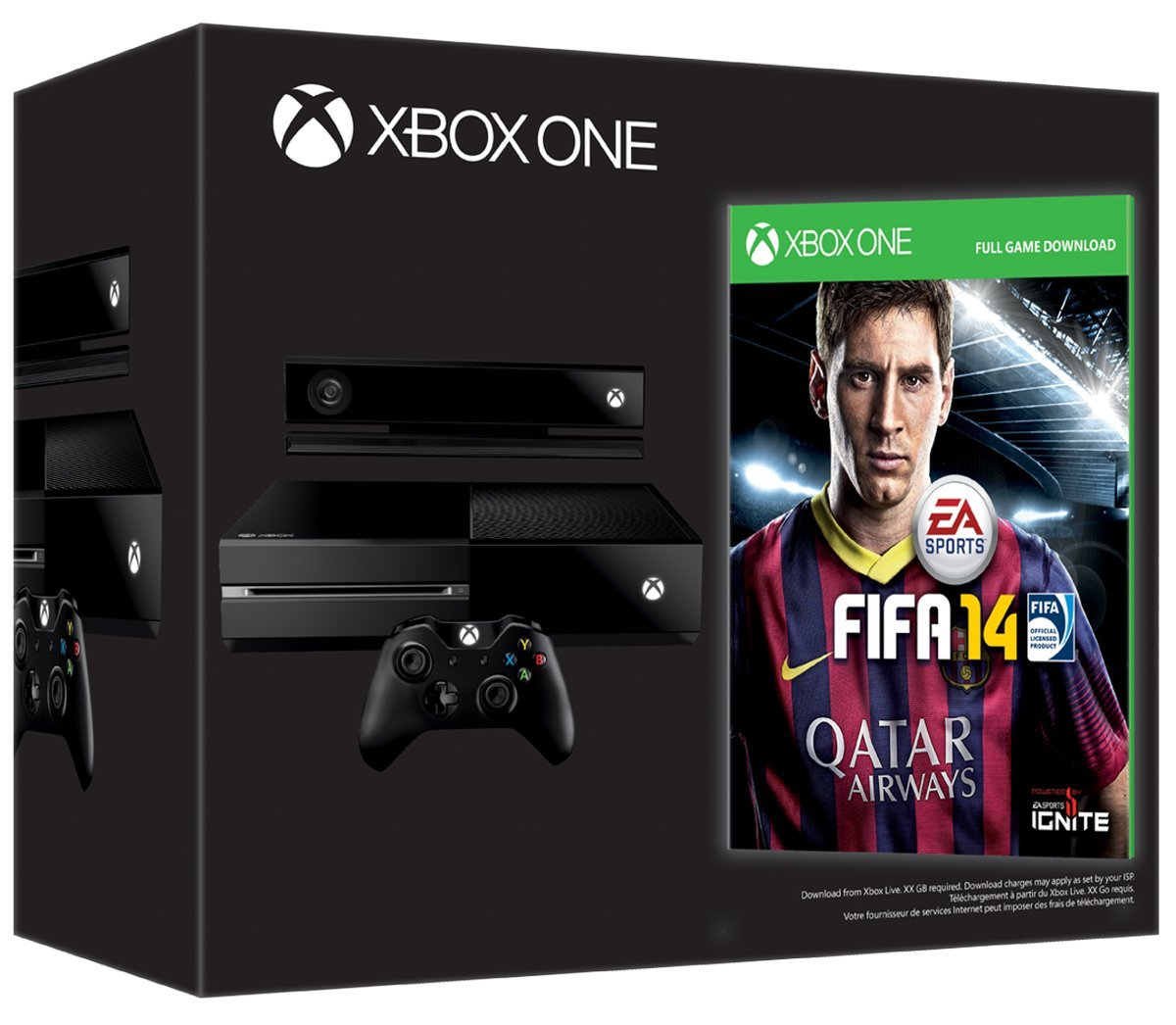 Xbox One Console: Day One Edition (with FIFA 14 download code