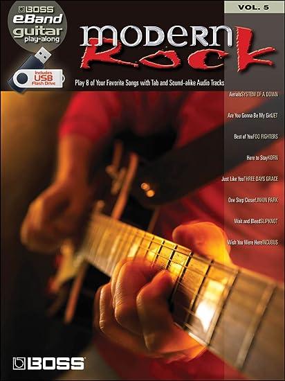 Hal Leonard Boss eBand Guitar Play-Along Volume 5: Modern Rock ...
