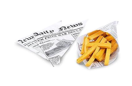 Kerafactum® - 20 Unidades fettdichte pommestüte Patatas ...