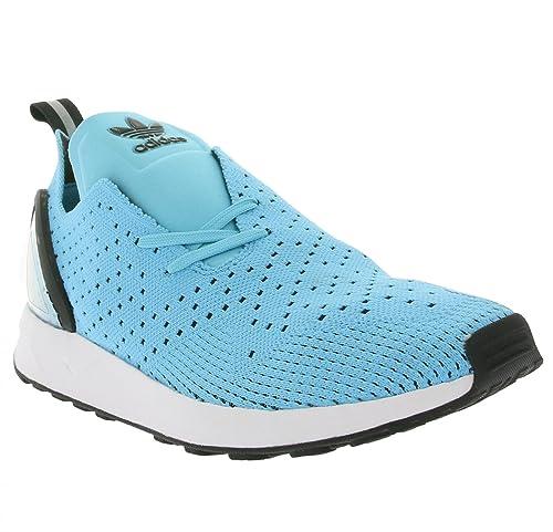 Abrazadera programa Composición  Buy Adidas ORIGINALS Men's Zx Flux Adv Asym Pk Blue, Black and White  Sneakers - 8 UK at Amazon.in