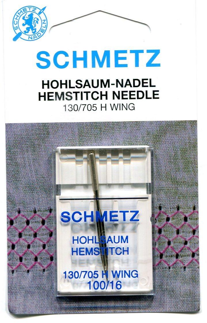 Schmetz HEMSTITCH Needles - 2 Sizes (100/16 (Finest))