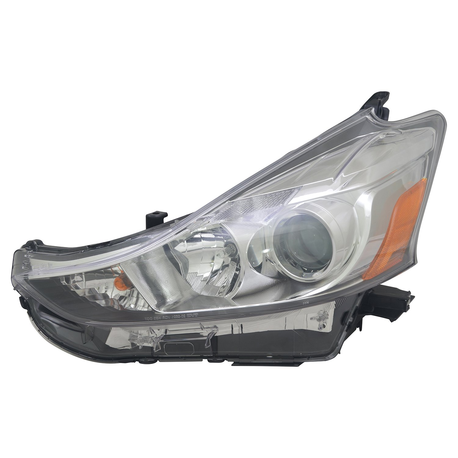 Partslink Number TO2518152 Multiple Manufacturers TO2518152N OE Replacement TOYOTA PRIUS/_V Headlight