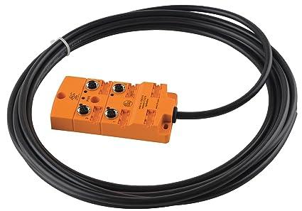 ifm ebc015 sensor wiring block 4 pin receptacle halogen rh amazon com 66 Block Wiring 66 Block Wiring