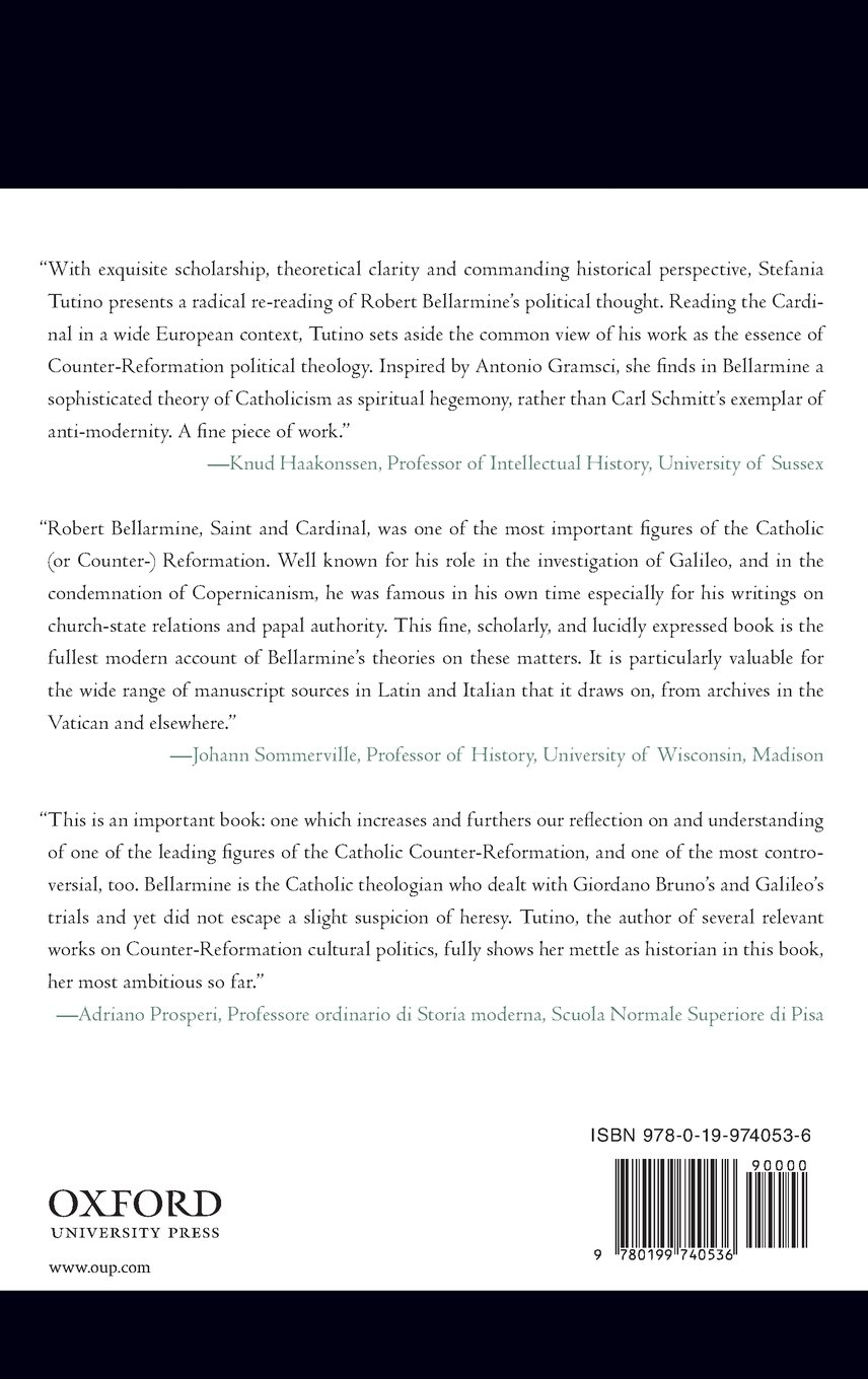 Empire of Souls: Robert Bellarmine and the Christian Commonwealth (Oxford Studies in Historical Theology)