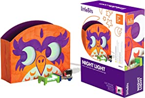 little Bits Hall of Fame Night Light Starter Kit, Purple