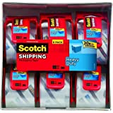 Scotch Heavy Duty Packaging Tape, 2 Inches x 800 Inches, 12 Rolls 2-Pack