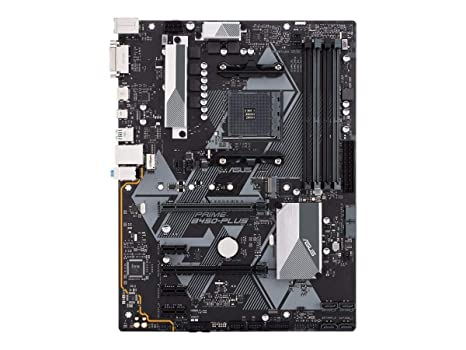 Asus PRIME B450-PLUS AMD AM4 B450 ATX - Placa base con Aura Sync ...