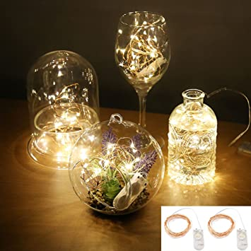 Amazon accmor led starry string lights firefly waterproof accmor led starry string lights firefly waterproof battery operated halloween decoration lightsul certified mozeypictures Gallery