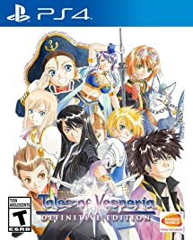 tales of vesperia definitive edition release date