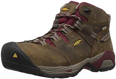 56b7fc953400 Keen Utility Women s Detroit XT Mid Steel Toe Waterproof Industrial Boot