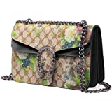 2017 Hot Sale Fashion Brand Design Women printing Flowers Bags handbag Shoulder Bag Chain Messenger bag