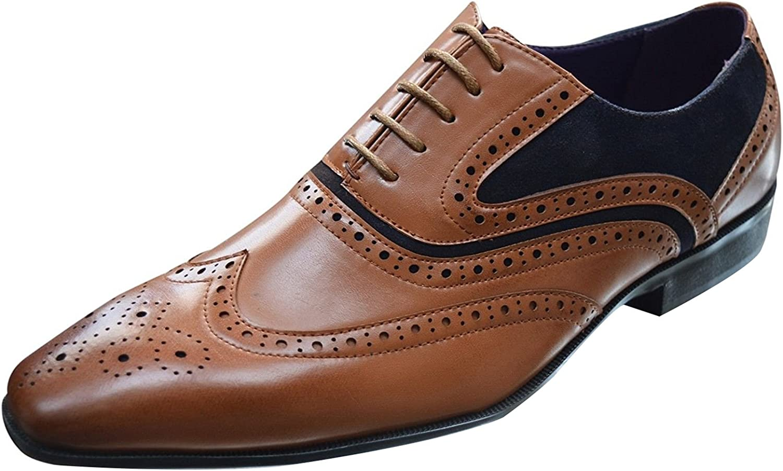 Xelay Zapatos de Vestir Hombre