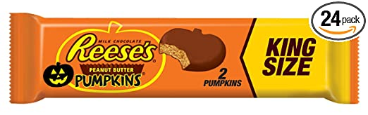 Amazon.com : Reese's Halloween Peanut Butter Pumpkins King Size ...