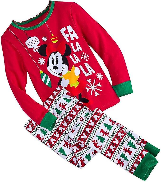 Disney Minnie Mouse Christmas Pajamas for Kids Multi