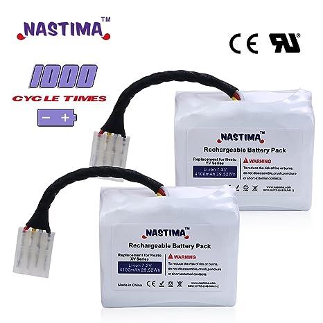 nastima iones de litio recargable 4100 mAh) para Neato XV-11 XV-12