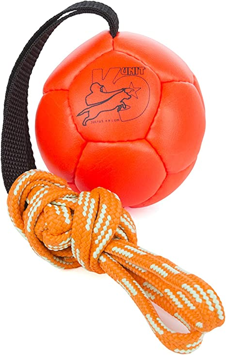 Julius-K9 KORA4-OR Show Training Ball 80 mm, Orange, Un tamaño ...
