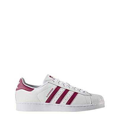 Adidas Originals Superstar, Chaussures de sport homme - blanc - multicolore (Ftwbla / Rubmis
