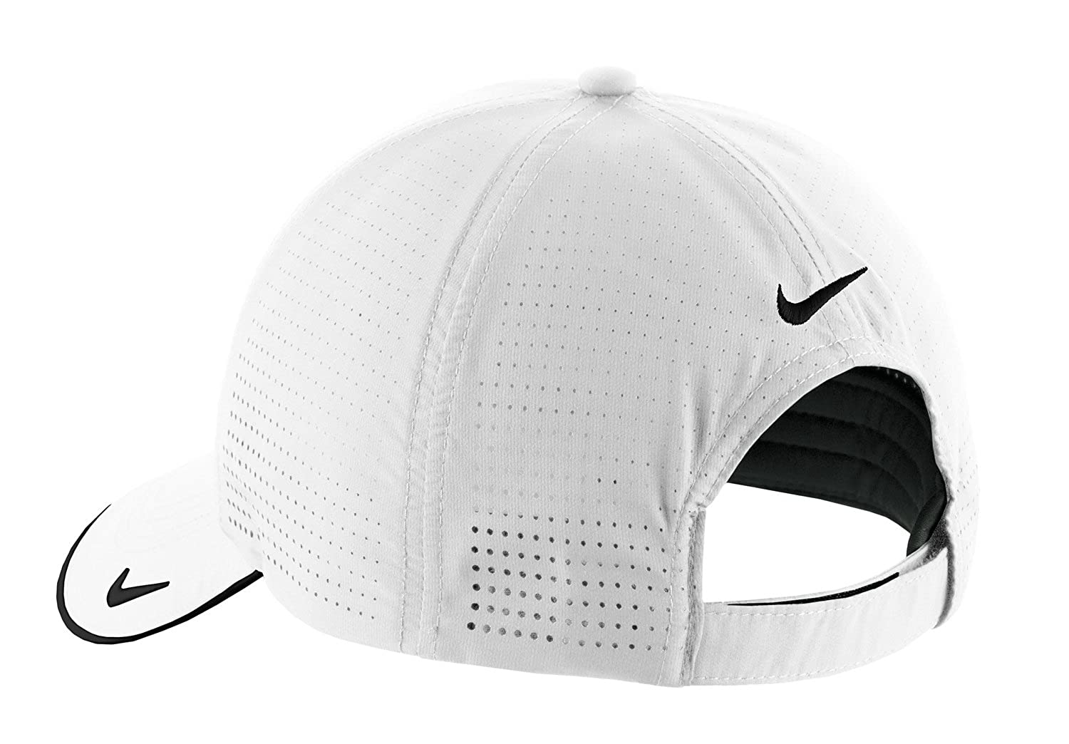 NIKE Authentic Dri-Fit Low Profile Swoosh Embroidered Perforated Baseball  Cap at Amazon Men s Clothing store  8f15943e767