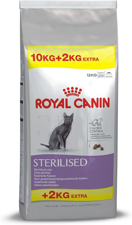 ROYAL CANIN Feline Health Nutrition Sterilised 37 Saco DE 10 + 2 Kg