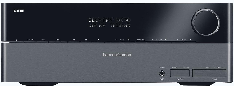 Harman Kardon AVR1600 50W 7.1-Channel A/V Receiver (Black) (Discontinued by Manufacturer)