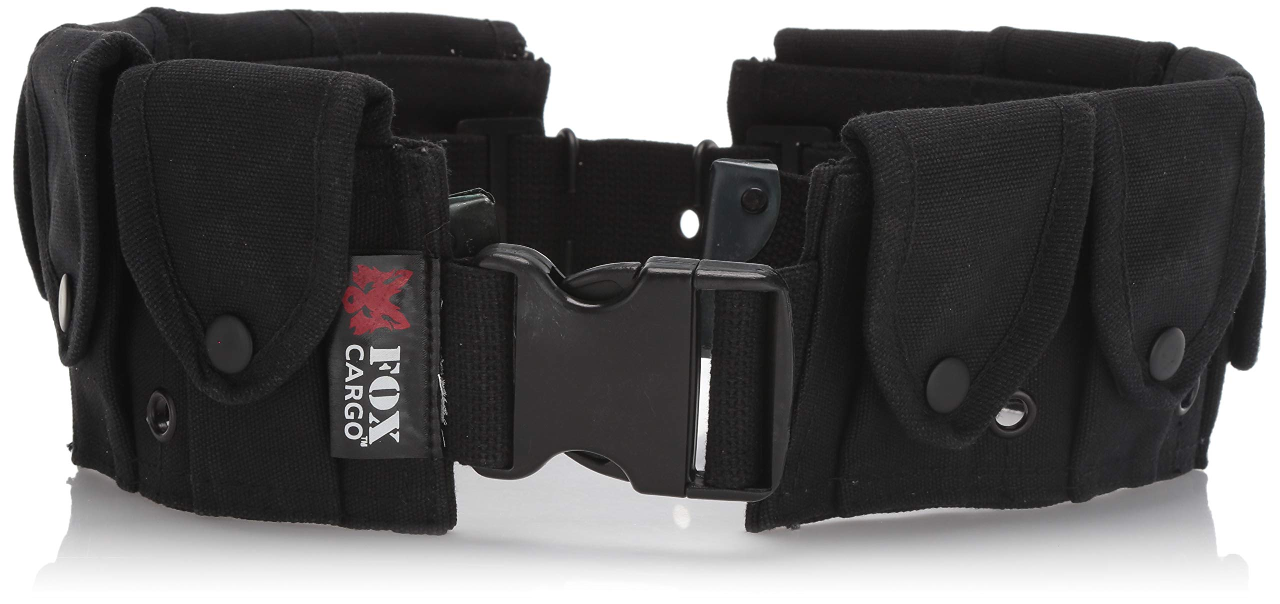 Fox Outdoor Products Military Belt, Black by Fox Outdoor