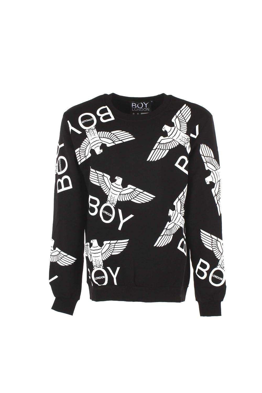 Boy London Felpa  Herren 2XL Nero Blu5018x Autunno Inverno 2018 19