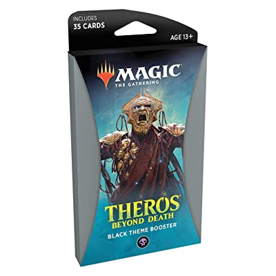 Magic: The Gathering Theros Beyond Death Theme Booster - Black: Toys & Games