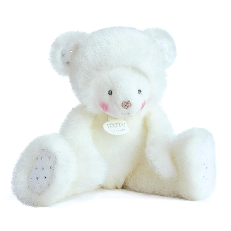 NURSERY BLUE TEDDY BEAR SOFT ANIMAL PLUSH TOY 30cm **NEW**