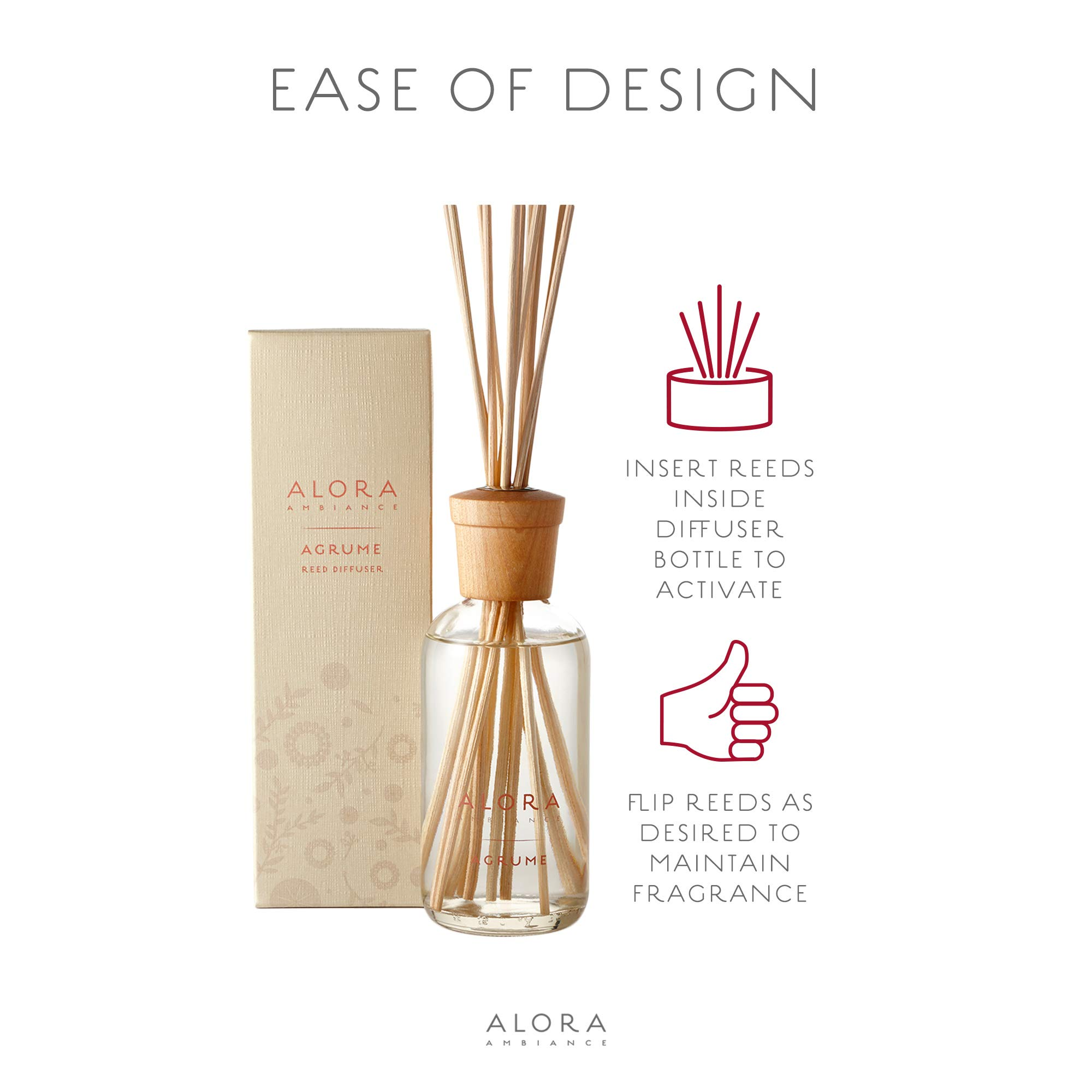 Alora Ambiance Reed Diffuser Agrume, 8 Oz by AloraAmbiance (Image #6)