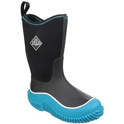Muck Boot Childrens/Kids Hale Pull On Wellington Boots (12 US Child) (Black/Black)