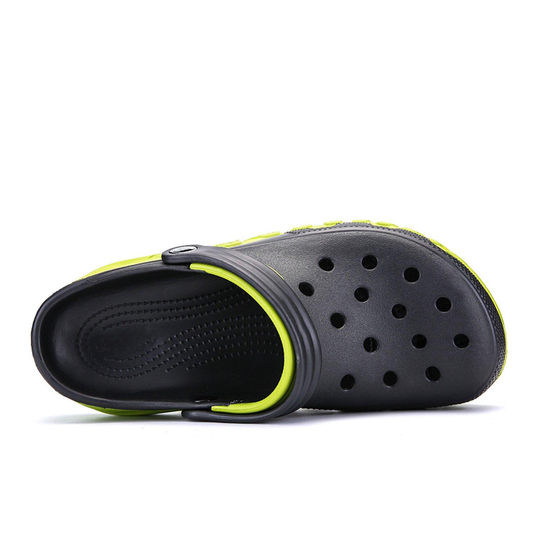 9fbc3dd4fa8 Auspiciousi Marque Grande Taille 38-46 Haute Qualité Croc Hommes  Occasionnels Aqua Sabots 2018 Mle Band Sandales  Amazon.fr  Chaussures et  Sacs