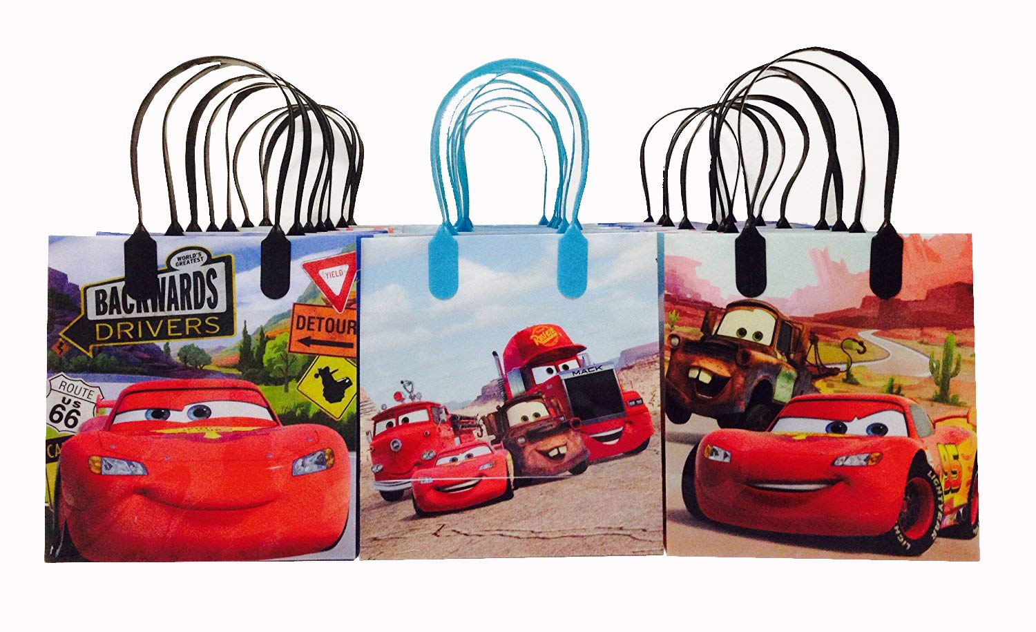 Disney Cars Balloons 12 Pixar Latex Party Supplies Birthday 1 2 3 Decorations Lightning McQueen Tow Mate Mater Rayo Package of 20 Assorted Set Creative Wholesaler