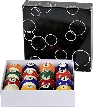 Bolas de billar 975.36 cm Professional: Amazon.es: Deportes y aire ...