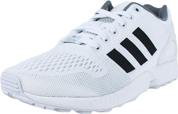 adidas zx flux bianco nero