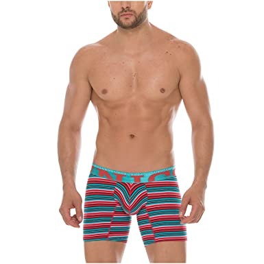Mundo Unico Men Colombian Print Cotton Mid Boxers Briefs Calzoncillos Multicolored S