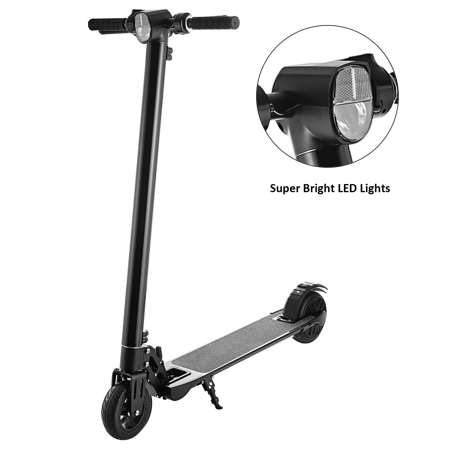 Anfan Folding Electric City Scooter Adult Teens 2-Wheel E-bike Electric Kick Scooter with Li-Ion Battery (US STOCK)