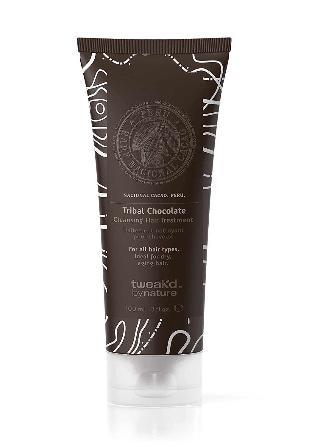 Tweak-d By Nature Cleansing Hair Treatment 3 fl. oz. (Tribal Chocolate)