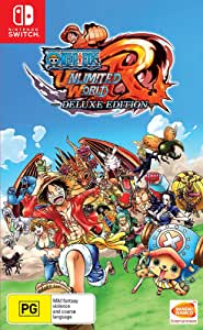 One Piece Unlimited World - Red Deluxe Edition   Nintendo Switch