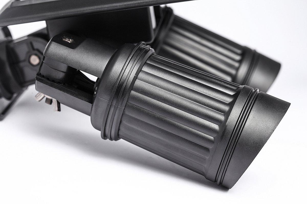 DSstyles 14 LED Solar Energy Powered Wall Light Adjustable Dual Head Spotlight Waterproof with PIR Motion Sensor