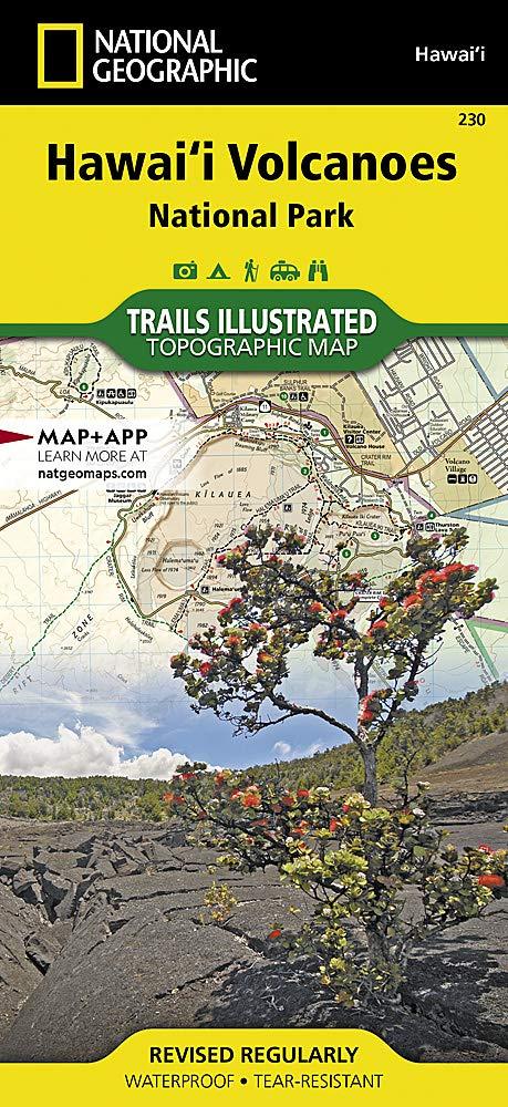 Hawaii Volcanoes National Park: Trails Illustrated National Parks Trails Illustrated Maps Idioma Inglés: Amazon.es: National Geographic Maps: Libros en idiomas extranjeros