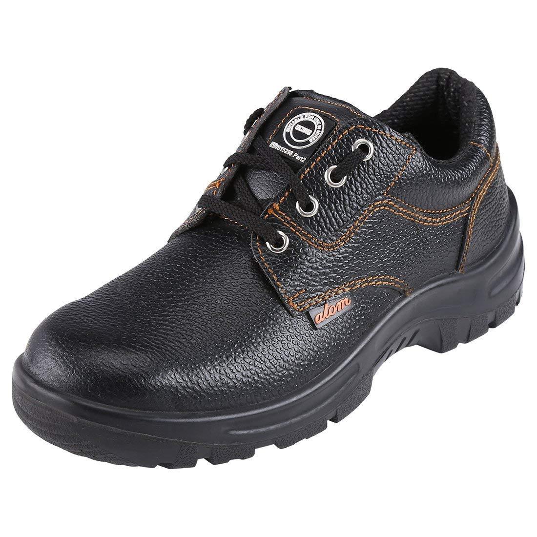 ACME Men's Atom Leather Safety Shoes Black (B07JGNKK4M) Amazon Price History, Amazon Price Tracker