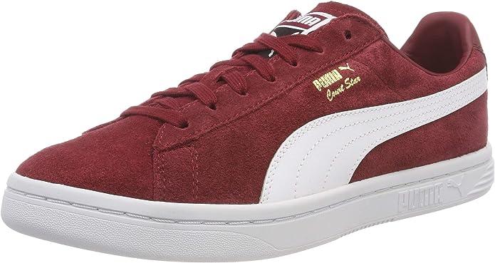 Puma Court Star FS Sneaker Damen Herren Unisex Rot (Pomegranate)