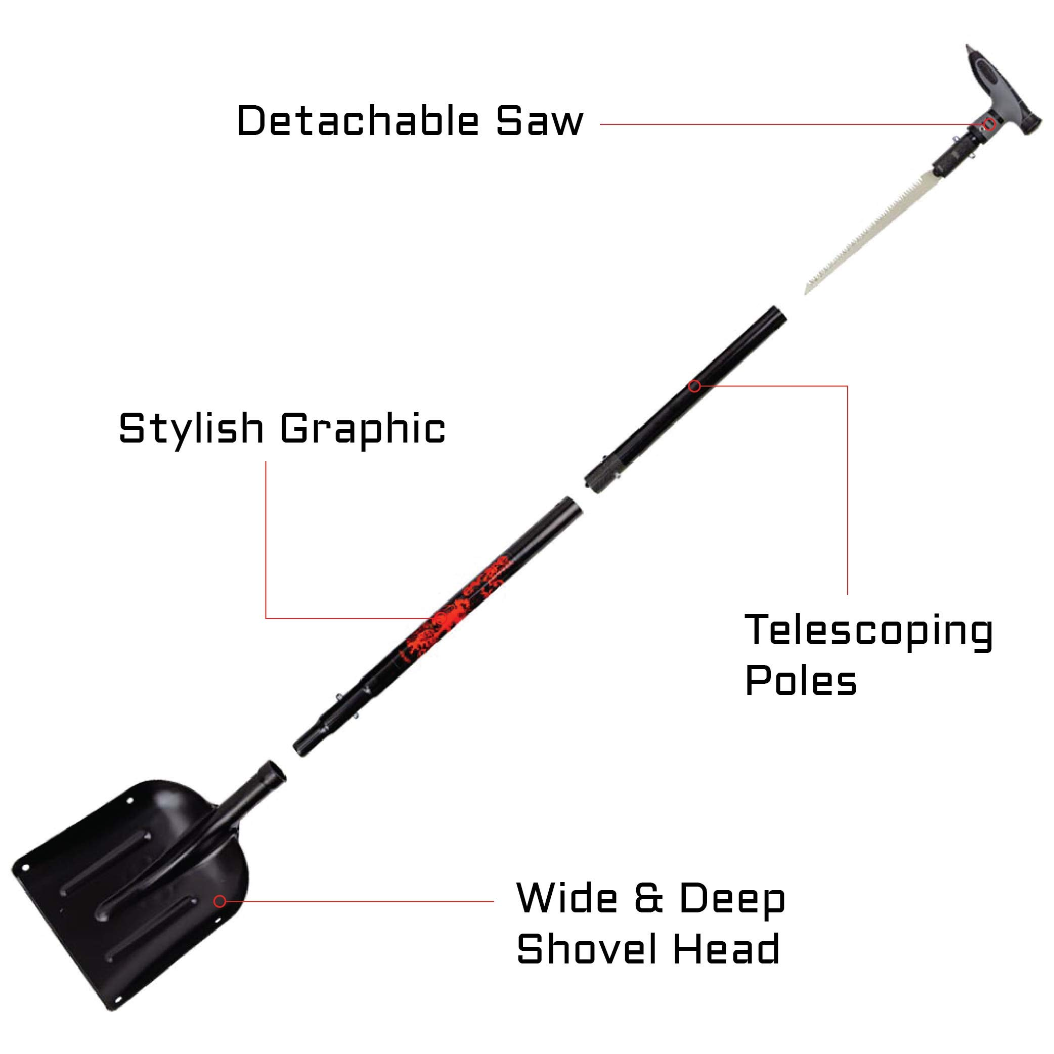 Demon Escape Ally Shovel by Demon United