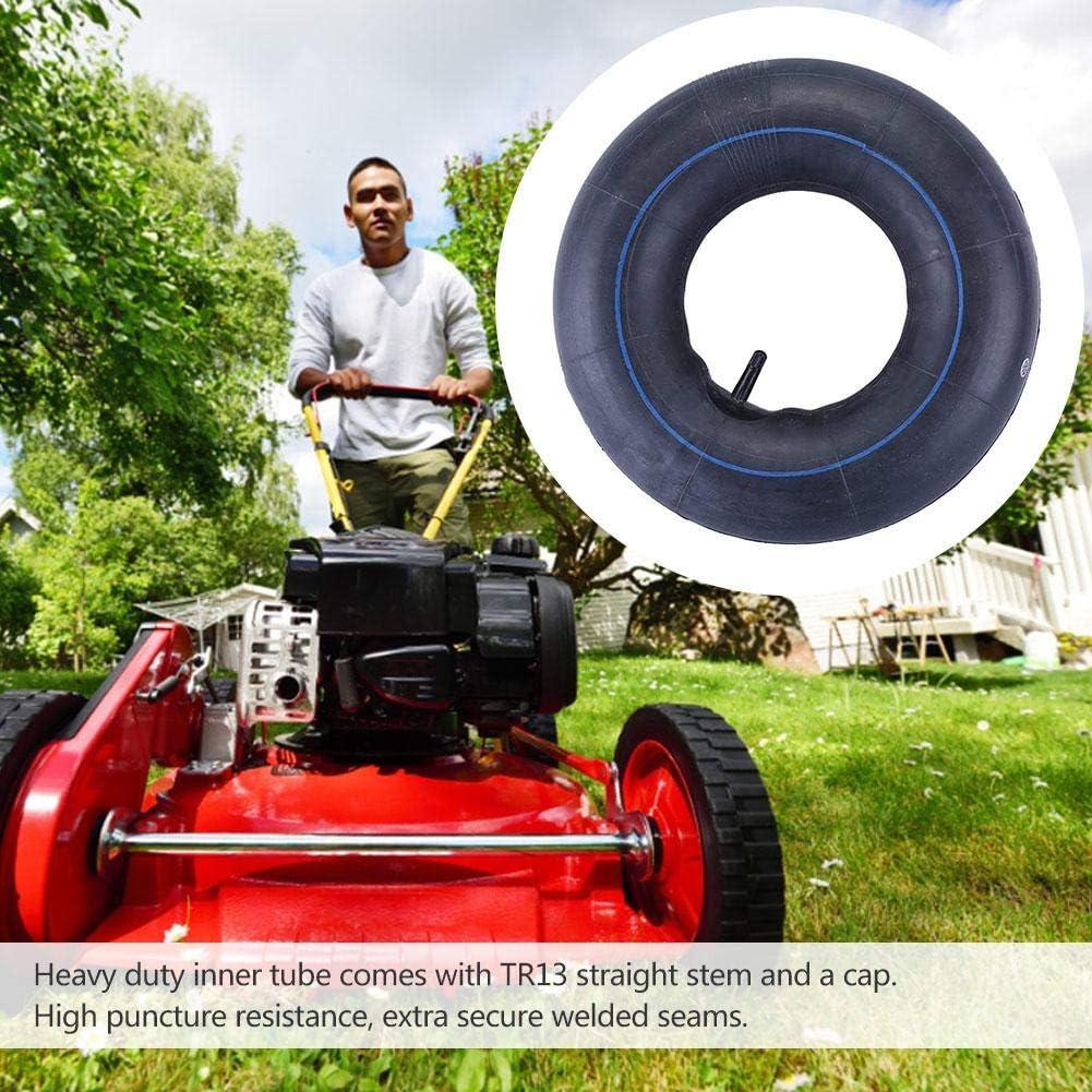 2 PCS 15x6.00-6 Tubes int/érieurs de remplacement pour pneus pour pelouse et jardin Chambre /à air en caoutchouc robuste avec valve /à tige droite TR-13 pour VTT tondeuse /à gazon