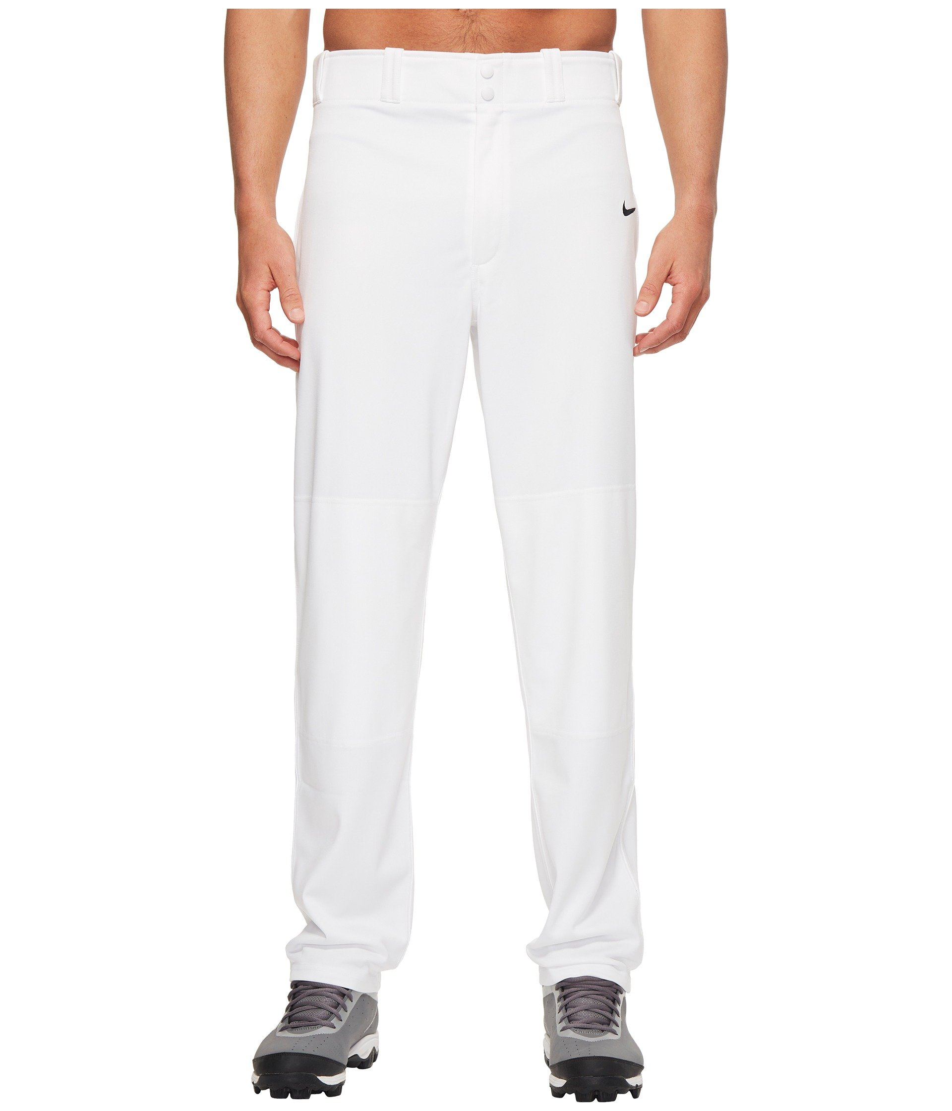 Nike Men's Core Dri-FIT Open Hem Baseball Pants (M, 100 White) by Nike (Image #1)