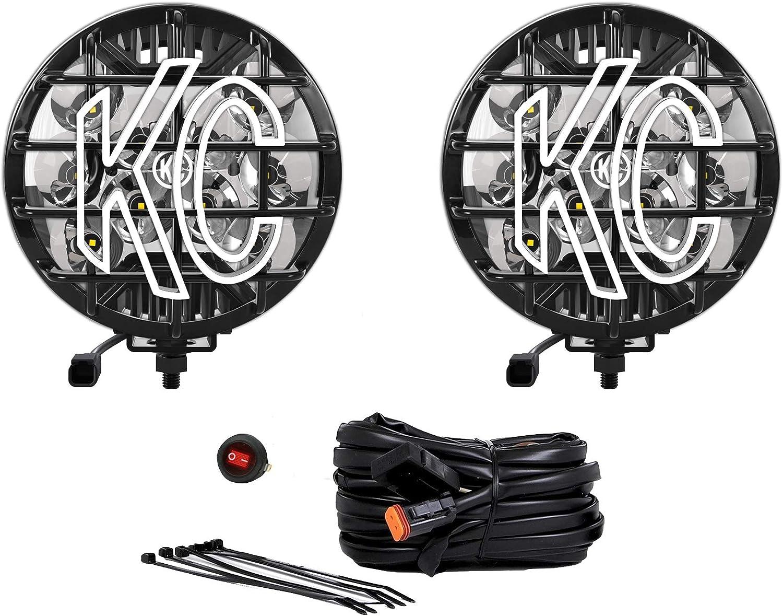 100 SlimLite LED Black Spot Beam - Pair Pack System