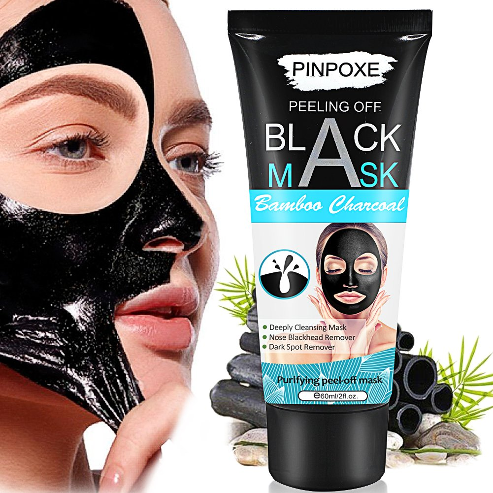 Blackhead Remover Mask, Peel Off Blackhead Mask, Black Mask - Deep Cleansing Facial Mask,helpful with Face & Nose by PINPOXE