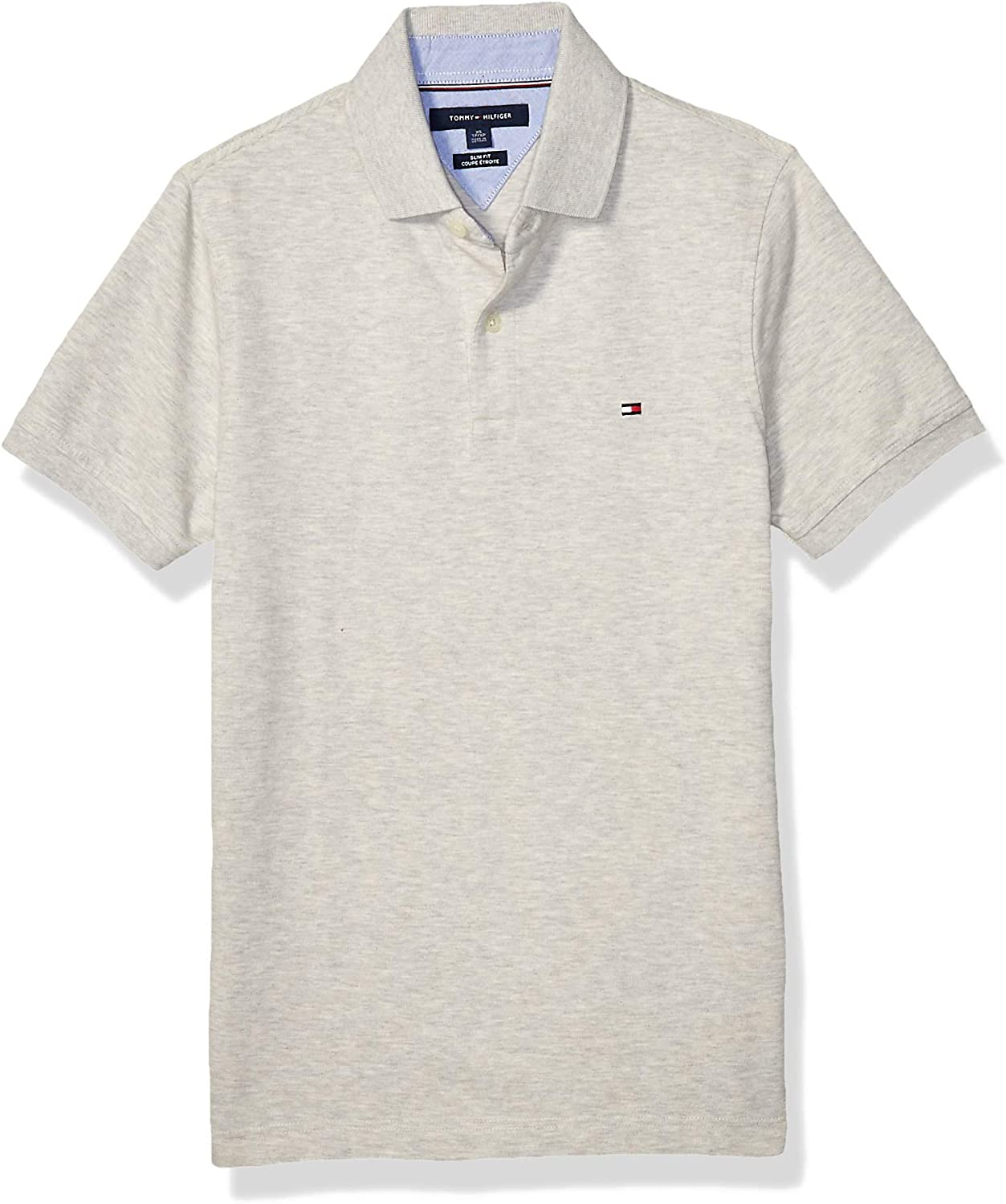 Tommy Hilfiger Mens Short Sleeve Polo Shirt in Custom Fit Polo Shirt