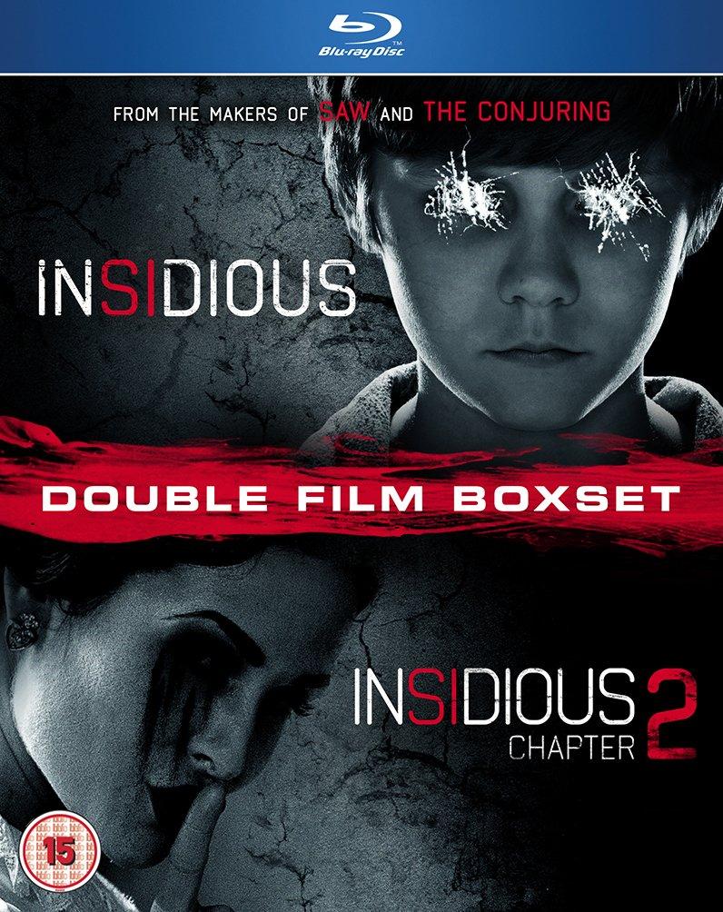 Amazon Com Insidious 1 2 Blu Ray Patrick Wilson Rose Byrne Barbara Hershey James Wan Patrick Wilson Rose Byrne Movies Tv