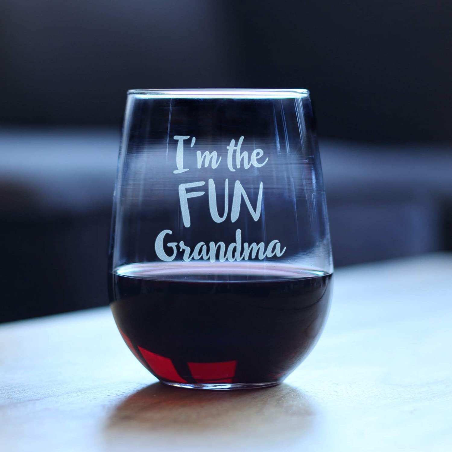 Mom Knows a lot but Gran knows everything Wine Glass Gift Ideas for Grandmother Wine Glass  Insulated Tumbler